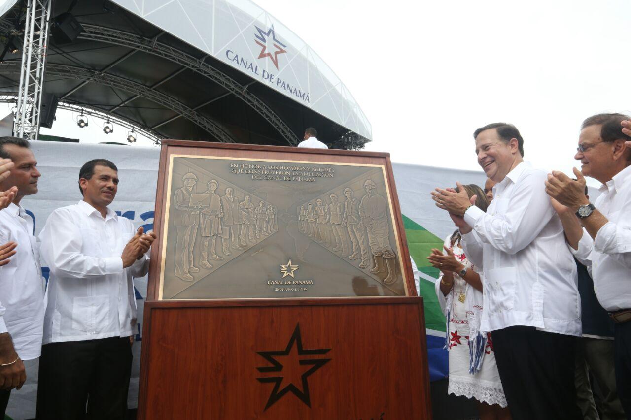 Presidente Varela destaca a los héroes de la ampliación del